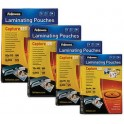 Fellowes pochette à plastifier, 60 x 90 mm, 250 microns