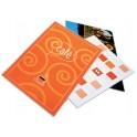 GBC pochettes à plastifier, format A7, brillantes, 250 mic