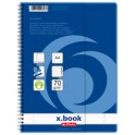 herlitz Collegeblock x.book DIN A4, 100 Blatt, liniert