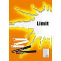 """LANDRÉ cahier """"LIMIT"""" format A4, linéature 21 / ligné"""