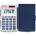 SHARP Calculatrice EL-243 S, fonctionnement solaire/batterie