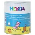"""HEYDA Kit de timbres à motifs """"vaccances"""", en boîte transpa-"""