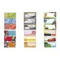 """HERMA Etiquettes pour livres, motif: """"tuning"""", 76 x 35 mm"""