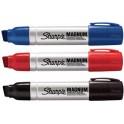 Sharpie Marqueur permanent METAL MAGNUM, pointe biseautée,