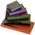 trodat cassette d'encrage de rechange 6/56/2, bleu/rouge