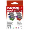 "Kores tampon encreur ""METALLICA"", (L)110 x (P)70 mm, bleu"