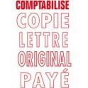 """COLOP Timbre a encrage automatiue Printer 20 """"COMPTABILISE"""","""