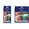 STAEDTLER Crayons de couleur NORIS CLUB gommables, étui