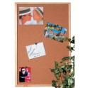 MAUL HEBEL Tableau liège avec cadre en bois, (L)400 x