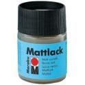 Marabu Vernis mat, mat, 50 ml, dans un verre