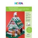 HEYDA Set de bricolage pour maison en pain d'épices, en