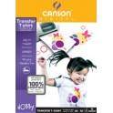 CANSON Papier transparent de transfert pour T-Shirt, 140 g