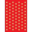 "HERMA Sticker de Nöel ""étoiles"", 8 mm, doré,"