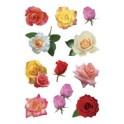 "HERMA Sticker DECOR ""roses sans tiges"""