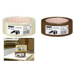 NOPI Ruban adhésif universel pour emballage, 38 mm x 66 m,