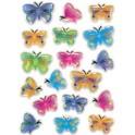 """HERMA Autocollants MAGIC """"papillons"""", cristal"""