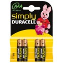 """DURACELL pile alcaline """"simply"""" micro AAA"""