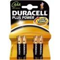 """DURACELL piles alcaline """"PLUS POWER"""", Micro, 20+4 GRATUITS"""