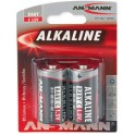 "ANSMANN alcaline CR2032 inclu, ""RED"", BabyC LR14, blister"