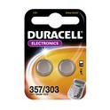 """DURACELL pile bouton oxyde argent """"Electronics"""", 357/303"""