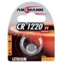 """ANSMANN Pile bouton en lithium """"CR2032"""", 3 V, blister de 1"""
