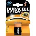 """DURACELL Pile alcaline """"PLUS POWER"""", E-bloc 9V, 1 pièce"""