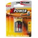 "ANSMANN pile alcaline ""X-Power"", bloc 9V"