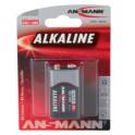 """ANSMANN Pile alcaline """"RED"""", 9V"""