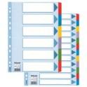 Esselte intercalaires en carton, uni, A4, 6 pcs, plusieurs
