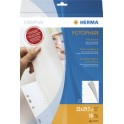 HERMA Feuillets carton,230 x 297mm,blanc,contenu:10 feuilles