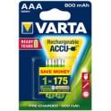 "VARTA Accu NiMH ""Rechargeable Accu"", Micro AAA , 1.000 mAh"