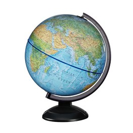 Globe lumineux GLOB'N'KIT, sphère bleue 300 mm