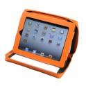 Alassio iPad Organizer, vrai cuir, incl. Bloc, rose
