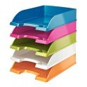LEITZ Corbeille à courrier Plus WOW, A4, polystyrène