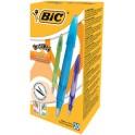 BIC Stylo-plume Easy Clic, largeur de plume: M, boîte de 20