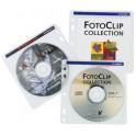 Pochettes hama CD-ROM,housse pour chaque 2 CDs,transparent,