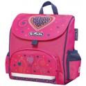"herlitz Sac à goûter Mini Softbag ""Pink Hearts"""