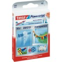 Tesa Powerstrips DECO, transparent, fixation: maxi 0,2 kg