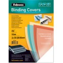 Fellowes Couverture, A4, PVC, transparente, 0,24 mm