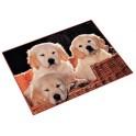 Läufer sous-main chiens, 400 mm x 530 mm, sous-main en