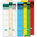 """ELBA étiquettes pour dos de classeur """"ELBA RADO""""-court/menu"""